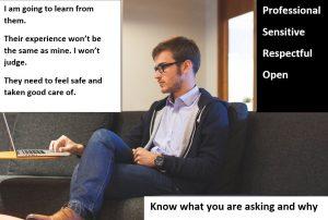 Attitudes to prepare