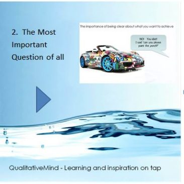 2. The most important question of all in qualitative research