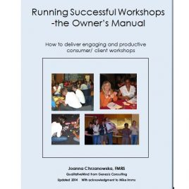 Running Successful Workshops – The Owner's Manual